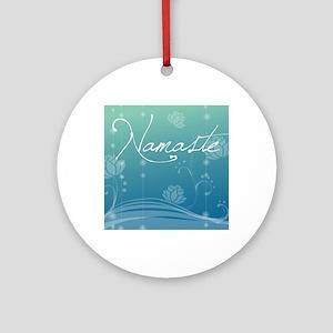 Namaste Puzzle Coasters (set of 4) Round Ornament