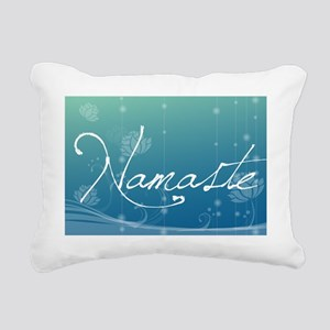 Namaste Messenger Bag Rectangular Canvas Pillow