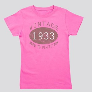 1933 Vintage (Red) Girl's Tee
