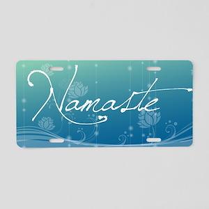 Namaste Key Hanger Aluminum License Plate