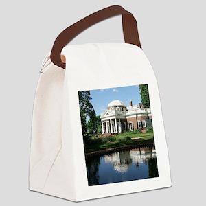 Monticello Canvas Lunch Bag