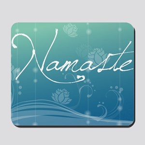Namaste Glass Cutting Board Large Mousepad