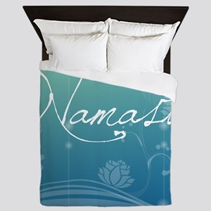 Namaste Cloth Napkins Queen Duvet