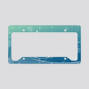 Namaste Clutch Bag License Plate Holder