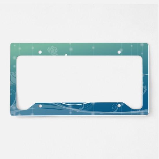 Namaste Clutch Bag License Plate Holder