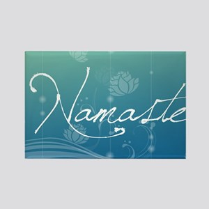 Namaste 20x12 Oval Wall Decal Rectangle Magnet