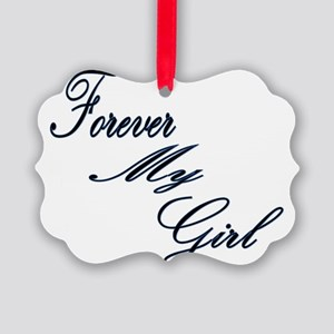 Forever My Girl Picture Ornament