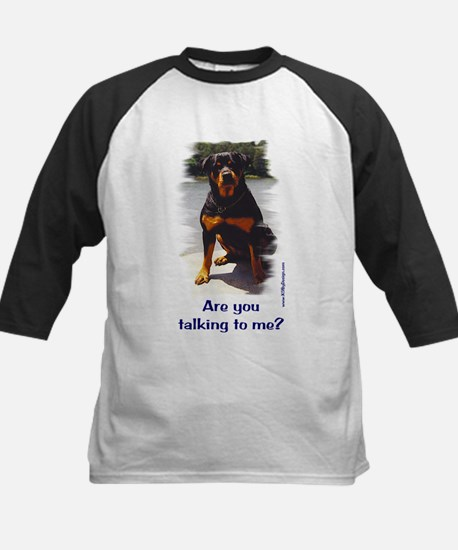 Are you talking to me? Kids Baseball Jersey