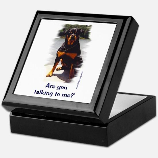 Are you talking to me? Keepsake Box