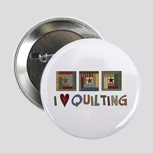 """I Love Quilting 2.25"""" Button (10 pack)"""