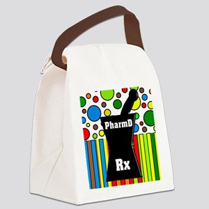 pharmD necklace 2 Canvas Lunch Bag
