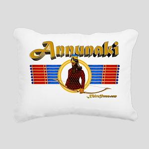 Annunaki Rectangular Canvas Pillow