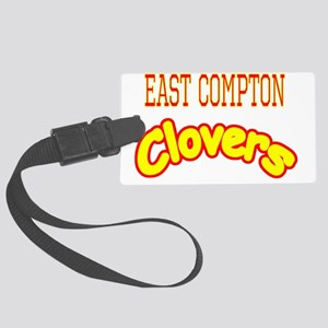 East Compton Clovers Large Luggage Tag