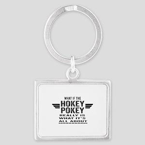 Hokey_Pokey Landscape Keychain