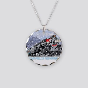 The Polar Express Movie Necklace Circle Charm