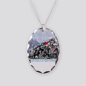 The Polar Express Movie Necklace Oval Charm