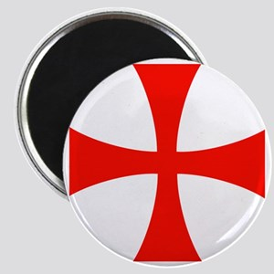 Templar Red Cross Magnet