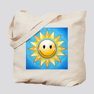Sunny with blue skies Tote Bag