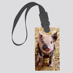 Piglet Large Luggage Tag