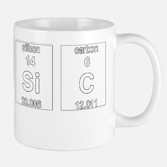 Classic Element Symbols 2 Mug
