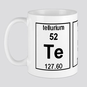 Tesla Element Symbols Mug