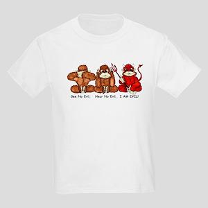 Devil Monkey Kids Light T-Shirt