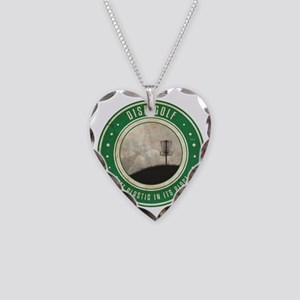 Putt Plastic In Its Place #10 Necklace Heart Charm