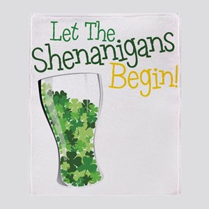 Shenanigans Throw Blanket