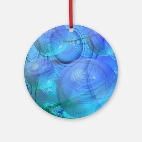 Inner Flow VI Round Ornament