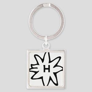 Haflinger Square Keychain