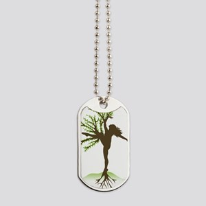 Dancing Tree Dog Tags