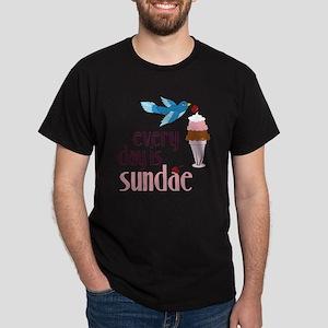 Every Day Is Sundae Dark T-Shirt