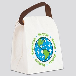 Five Rs Canvas Lunch Bag