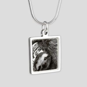 11 Silver Square Necklace