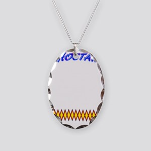 CHOCTAW Necklace Oval Charm