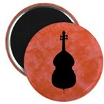 Cello Magnets, round, 10 pack