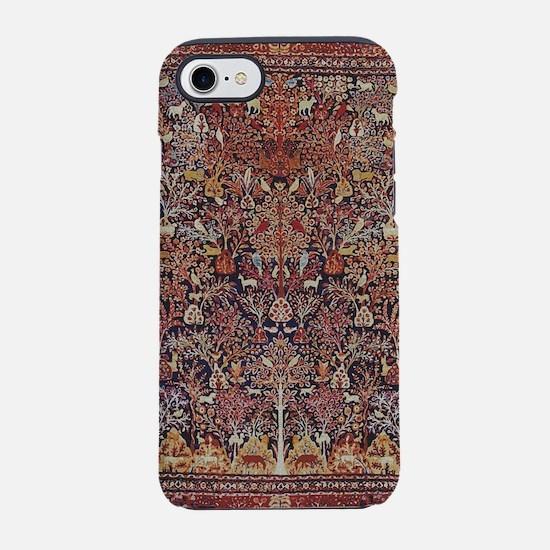 Antique Vintage Persian Rug iPhone 7 Tough Case