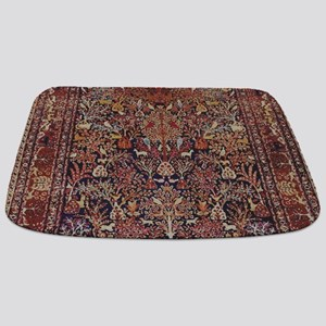 Antique Vintage Persian Rug Bathmat