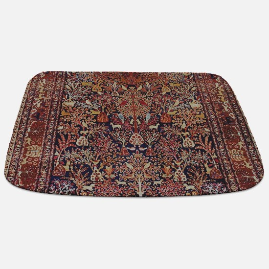 Antique Vintage Persian Rug Bathmat