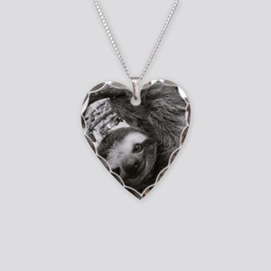 frame print Necklace Heart Charm
