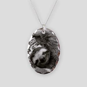 frame print Necklace Oval Charm