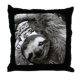 Sloth Cotton Pillows