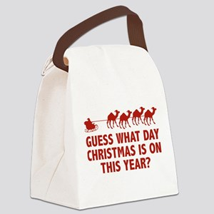 Guess What Day Christmas Is On This Year? Canvas L