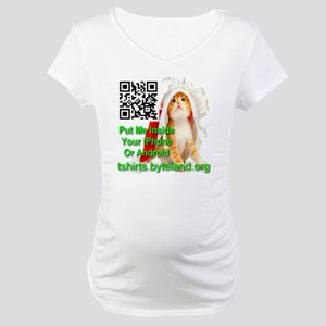 Put Me Inside Your Phone Xmas Ca Maternity T-Shirt
