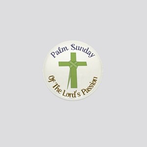 Palm Sunday Mini Button