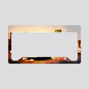 Pencil, Kubus, Tub, Melting P License Plate Holder