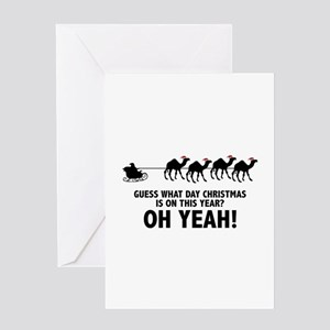 Guess What Day Christmas Is On This Year? Greeting
