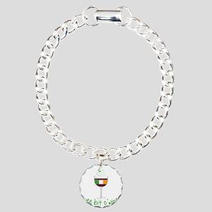 Wee Bit O Wine Charm Bracelet, One Charm