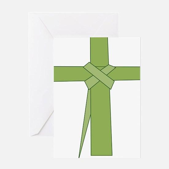 Palm Leaf Folded Greeting Card
