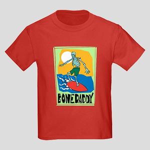 Bone Daddy Surfer Kids Dark T-Shirt